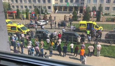 Atac armat într-o școală din Rusia. Cel puțin 13 morți