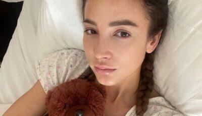 """,,Sunt atât de umflată, de groază"""". Olga Buzova menține legătura cu fanii săi, din spital"""