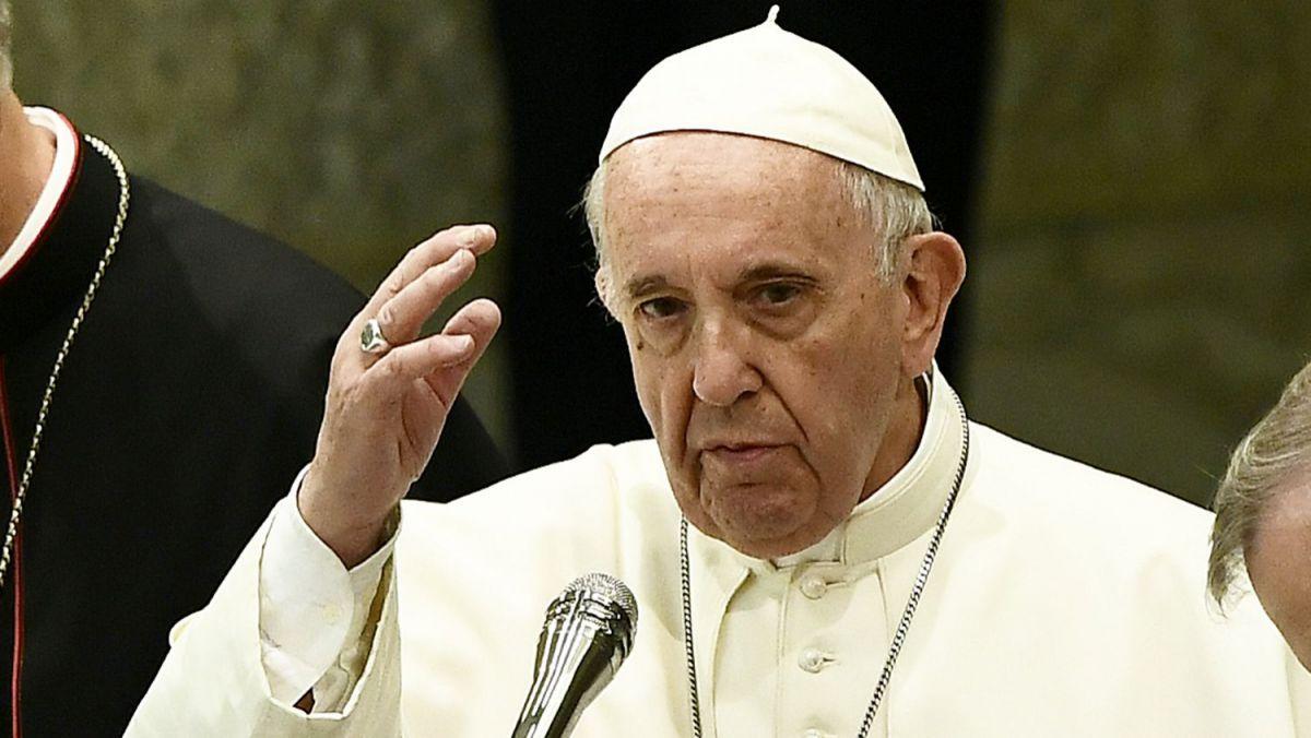 """Foto: Papa Francisc, despre atacurile dintre Fâşia Gaza şi Israel: ,,Un semn că nu vrem să construim viitorul, ci să-l distrugem"""""""