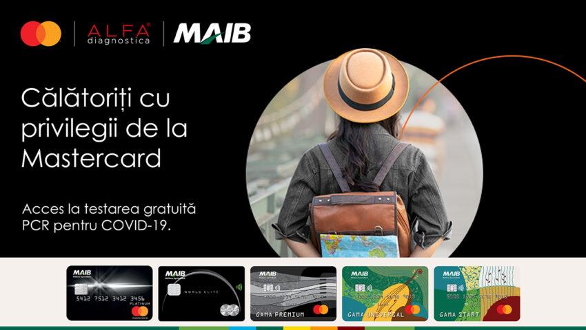 Călătorește cu privilegiile oferite de MAIB și Mastercard