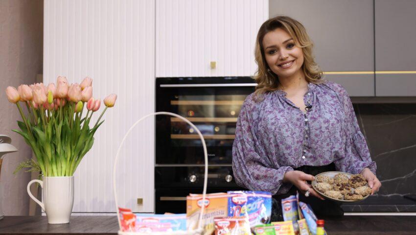 Cornelia Ștefăneț vine cu o rețetă de fursecuri sănătoase și delicioase