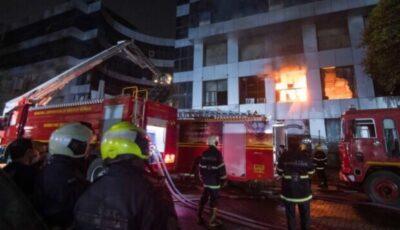 Incendiu la un spital Covid din India. Cel puţin 18 persoane decedate