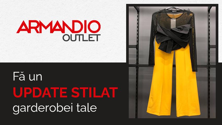 Foto: ARMANDIO OUTLET, noul tău magazin preferat de haine din sectorul Buiucani