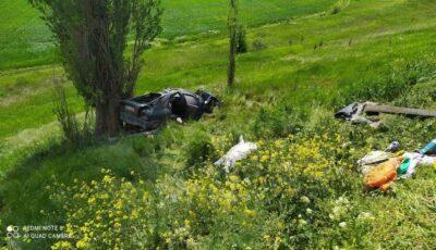 Grav accident la Cahul. Un mort și 4 răniți. Un bebeluș, internat la reanimare