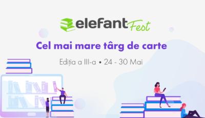 Elefant.md organizează cel mai mare târg de carte online – elefantFest, ediția a III-a