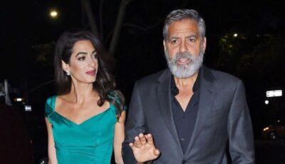 """George Clooney, despre soţia sa: """"E un dezastru pentru mariajul nostru ce a făcut Amal în pandemie!"""""""