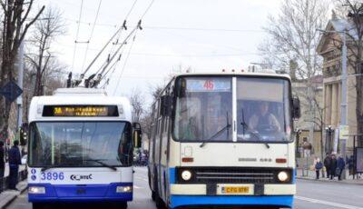 Cum va circula transportul public din capitală în noaptea de Înviere