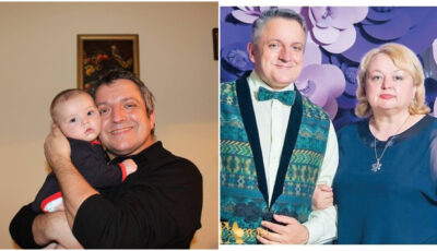 """Prezentatorul Andrei Porubin, dezvăluiri emoționante despre perioada în care el și soția sa urmau să devină părinți a doua oară, după 15 ani: ,,A fost marea surpriză"""""""