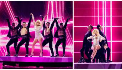 Superba Natalia! Primele imagini video de pe scena Eurovision 2021