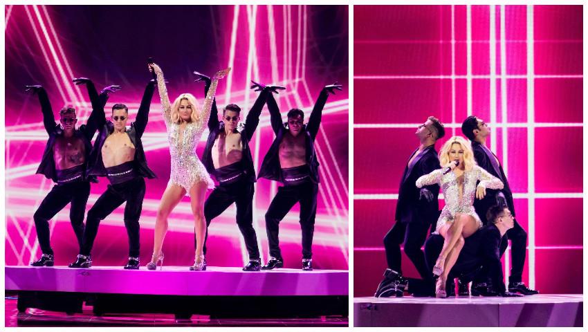 Foto: Superba Natalia! Primele imagini video de pe scena Eurovision 2021