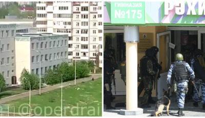 Rusia: Mai mulți elevi de la școala din Cazan s-au aruncat de la ferestre, de frica de a fi împușcați