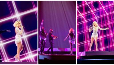 """Muncă asiduă pe scena Eurovision! Natalia Gordienko: ,,Mă bazez pe voi toți! Arătați tuturor cum îi putem susține pe ai noștri!"""""""