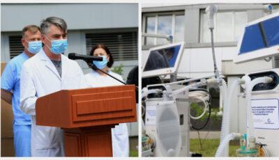 Un alt lot de 200 de ventilatoare procurate cu ajutorul Băncii Mondiale vor fi distribuite spitalelor din țară