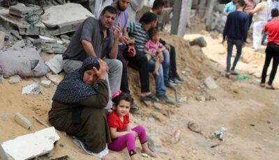 """Convoaie cu ajutoare umanitare au ajuns în Gaza, după încetarea focului. ,,Ne-am întors la casele noastre complet distruse"""""""
