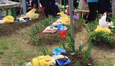 În cimitirele din raionul Orhei, Paștele Blajinilor va fi organizat trei zile la rând. Decizia comisiei locale