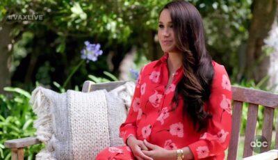 Meghan Marklea avut o nouă apariţie spectaculoasă, în grădina casei din Montecito