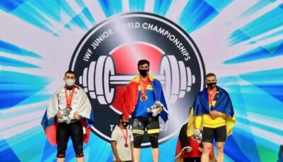 Moldova are, în premieră, un campion mondial la haltere