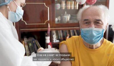 """Compozitorul Eugen Doga s-a imunizat împotriva Covid-19: ,,Vaccinul e făcut de savanți. Trebuie să avem încredere și în ei"""""""