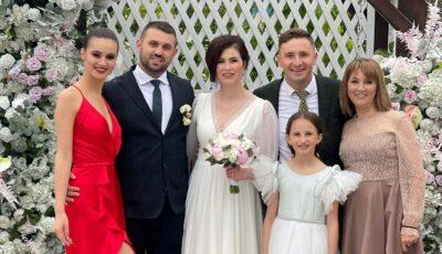 Nuntă în familia lui Emilian Crețu