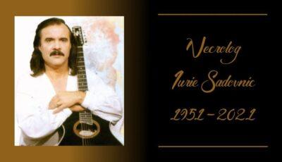 Ministerul Educației, necrolog în memoria regretatului artist Iurie Sadovnic