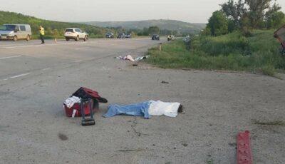 Accident îngrozitor la Ialoveni. O fetiță de 5 ani a decedat pe loc