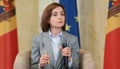 """Președinta Maia Sandu cere responsabililor din cadrul organelor de control să nu mai """"hărțuiască"""" agenții economici, afectați după criza pandemică"""