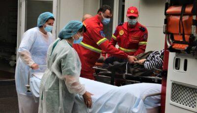 O femeie care a suferit un accident vascular în Rusia, adusă acasă cu un echipaj Smurd