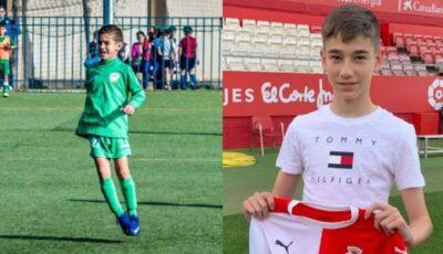 Un băiețel moldovean a devenit jucătorul uneia dintre cele mai bune echipe de fotbal din Spania