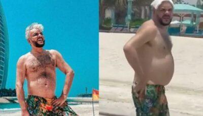 Filip Kirkorov ar fi folosit photoshopul pentru o poză reușită în vacanța în Dubai. Fanii aflați la fața locului l-au dat de gol