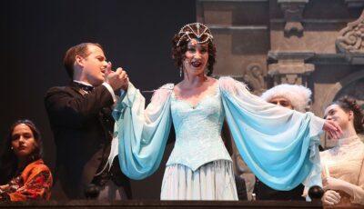Olga Buzova a debutat în actorie. Costul biletului pentru spectacol a ajuns la 1.730 euro