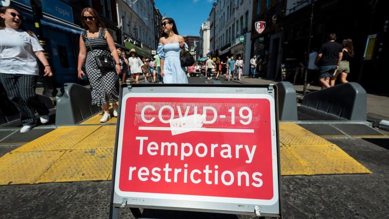 Foto: Marea Britanie va amâna eliminarea completă a restricțiilor anti-Covid, din cauza tulpinii indiene înalt contagioase