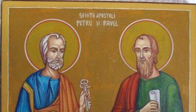 Creștinii ortodocși de stil vechi îi sărbătoresc astăzi pe Sfinții Apostoli Petru și Pavel