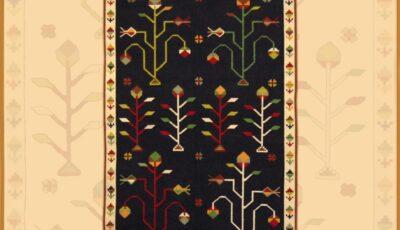"""Expoziție de țesături inspirate din arta covoarelor tradiționale basarabene, la pensiunea turistică ,,Muze"""" din satul Țâpova"""