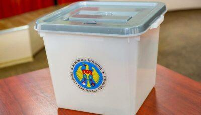 CEC a aprobat modelul buletinului de vot pentru alegerile din 11 iulie 2021. Iată cum va arăta!
