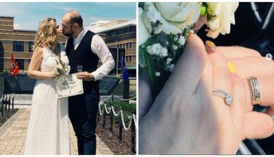 Karizma și iubitul ei s-au căsătorit peste Ocean!