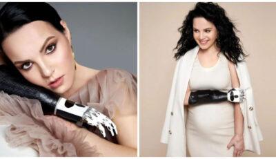 Margarita Graceva, însărcinată cu o fetiță, a participat la o ședință foto