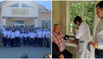 """Echipe mobile de vaccinare ,,din casă în casă"""", organizate în localitățile din Moldova"""