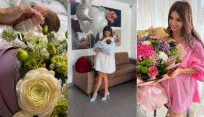 Bloggerița Doina Stratan, externată a doua zi după naștere