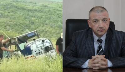 Fostul deputat Sergiu Mocanu și alte persoane au scăpat cu viață după accidentul de avion produs în raionul Ialoveni