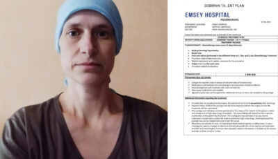 O mămică în vârstă de 41 de ani luptă cu cancerul. Să o ajutăm împreună!