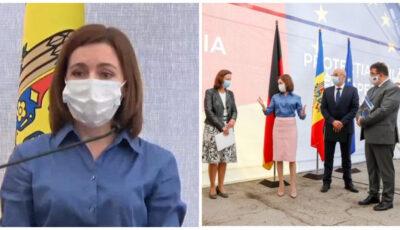 Moldova a primit un ajutor umanitar de 10 milioane de euro din Germania
