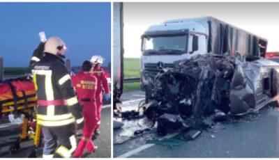 Care este starea tânărului moldovean, rănit în accidentul grav de lângă vama Nădlac din România