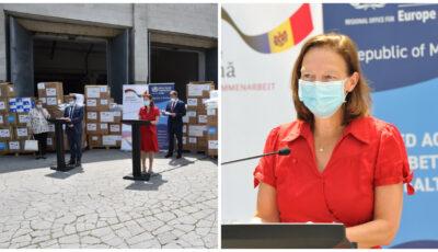 Republica Moldova a primit un nou lot de ajutor din partea Germaniei