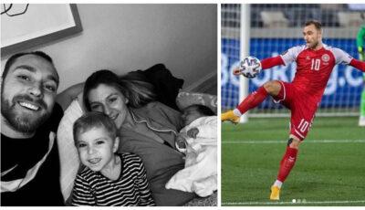 Prima imagine din spital, postată de fotbalistul Eriksen după stopul cardiac suferit pe teren