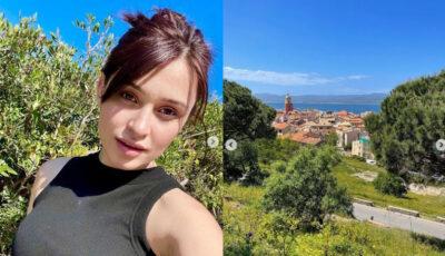 Irina Rimes, vacanță cu iubitul francez în Saint Tropez