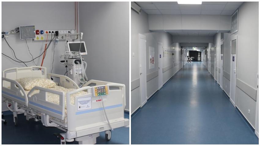 O nouă secție de terapie intensivă, inaugurată la Spitalul Clinic Municipal Sfânta Treime