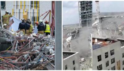 Belgia. Cinci morți și 9 răniți după prăbușirea șantierului unei școli. Cetățeni moldoveni, printre victime