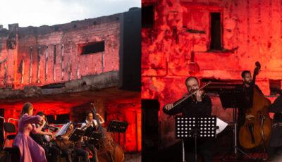 Concert inedit la Filarmonica Națională, organizat pe ruinele edificiului