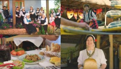 """""""Oaspeții vin când sunt așteptați"""", cu sărmăluțe, vin bun și alte delicii tradiționale. Republica Moldova are un nou spot de promovare"""