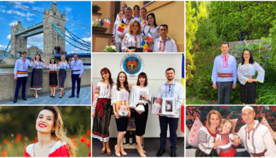 Moldovenii din toate colțurile lumii, mândri să poarte Ia românească!